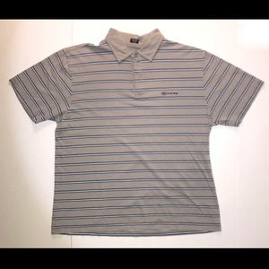 Vintage Vans Striped Polo Shirt